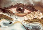 Eye of seeing painting 1980